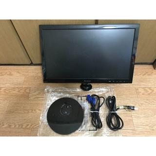 モニター ASUS製  型式:VS197N [18.5インチ Black](ディスプレイ)