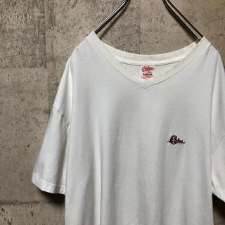 キャリー(CALEE)のCALEE ワンポイントロゴTシャツ ホワイト サイズL(Tシャツ/カットソー(半袖/袖なし))