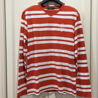 ブラックレーベルクレストブリッジ(BLACK LABEL CRESTBRIDGE)のBLACK LABEL CRESTBRIDGE クレストブリッジ ボーダーT(Tシャツ/カットソー(七分/長袖))