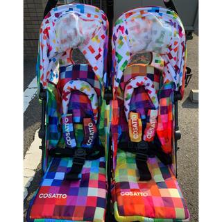 コサット(COSSATO)のベビーカー コサット双子用ベビーカー(ベビーカー/バギー)
