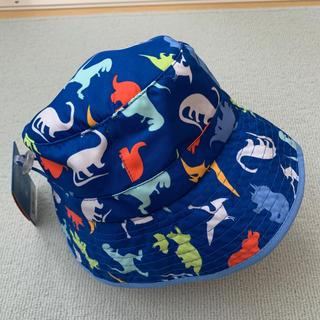 コストコ(コストコ)の☆送料込☆新品タグ付き☆ブルー 恐竜柄 UV SKINZ キッズ 帽子 ハット(帽子)