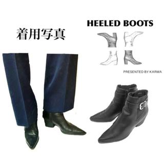 ラッドミュージシャン(LAD MUSICIAN)の[vintage archive] 7cm heel boots (ブーツ)