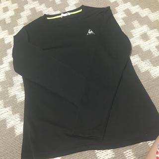ルコックスポルティフ(le coq sportif)のルコック ブラック長袖 トップス(Tシャツ(長袖/七分))