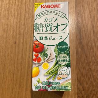 カゴメ(KAGOME)のカゴメ糖質オフ 野菜ジュース 22本セット(ダイエット食品)