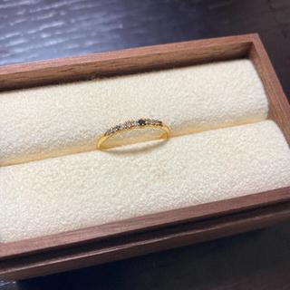 イーエム(e.m.)のe.m. マルチカラーダイヤリング 11号(リング(指輪))