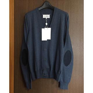 Maison Martin Margiela - 新品 メゾン マルジェラ メンズ エルボーパッチ ニット カーディガン セーター