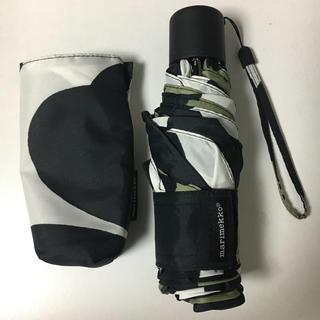 マリメッコ(marimekko)の【未使用】 marimekko 折り畳み傘(傘)