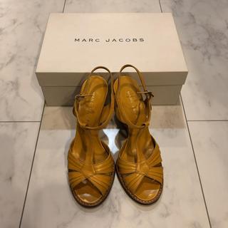 マークジェイコブス(MARC JACOBS)のマークジェイコブス ウェッジソールサンダル 36.5(サンダル)