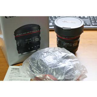 キヤノン(Canon)の【美品】EF8-15mm F4L フィッシュアイ USM(レンズ(ズーム))