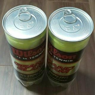 ウィルソン(wilson)のウィルソン グランドスラム 2缶6個分 未開封品 とオマケ 1個のテニスボール(ボール)