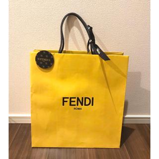 フェンディ(FENDI)のFENDI ショッパー  チャーム リボン付き(ショップ袋)