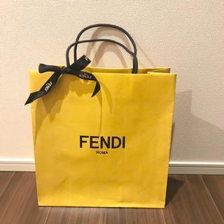 フェンディ(FENDI)のFENDI ショッパー  リボン付き(ショップ袋)