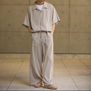 サンシー(SUNSEA)のRYO TAKASHIMA OVERSIZED PAJAMAS(BEIGE)(セットアップ)