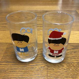 Panasonic100周年記念 ナショナル坊や ガラスコップ 4個セット(グラス/カップ)