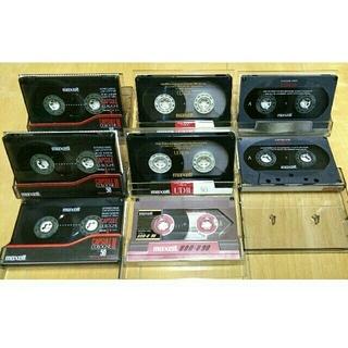maxell - Maxell UDⅡ他 ハイポジ カセットテープ 中古8本
