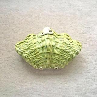 シップス(SHIPS)のシェル デザイン クラッチバッグ ショルダーバッグ かごバッグ 貝殻(ショルダーバッグ)