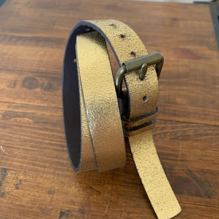 ギャップ(GAP)の GAP 本革 ゴールドベルト  (ベルト)