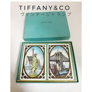 ティファニー(Tiffany & Co.)のティファニーTIFFANY&co ヴィンテージトランプ 未使用(トランプ/UNO)
