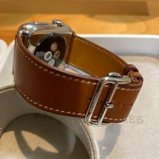エルメス(Hermes)の正規品 Apple Watch Hermès エルメス ディプロイアントバンド(レザーベルト)