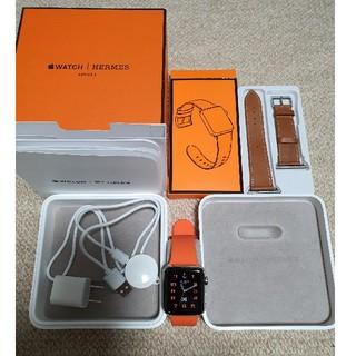 アップルウォッチ(Apple Watch)のあか様専用 Apple watch HERMES Series3 GPS+Cel(腕時計(デジタル))