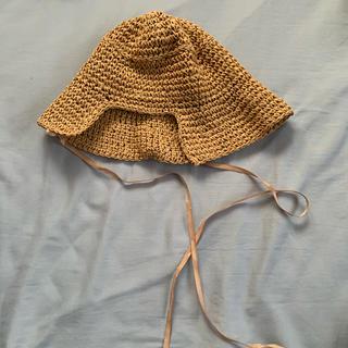 ディーホリック(dholic)の麦わら帽子韓国(麦わら帽子/ストローハット)