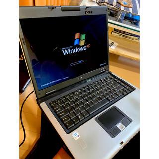 エイサー(Acer)のAser Aspire 5630 イエサー Win XP ノートPC ジャンク(ノートPC)