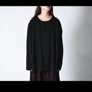 ヨウジヤマモト(Yohji Yamamoto)のBISHOOL Wool Gabardine CutOff Pullover(Tシャツ/カットソー(七分/長袖))