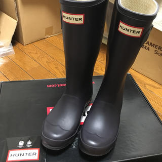 ハンター(HUNTER)のキッズ  ハンター  レインブーツ  20センチくらい(長靴/レインシューズ)