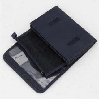 MUJI (無印良品) - 無印良品母子手帳ケース 小 NAVY ネイビー 紺20×15cm