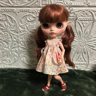 小さな袖のワンピース 48(人形)