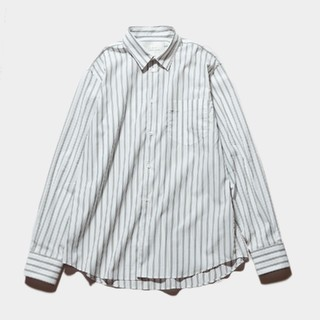 コモリ(COMOLI)のSTUDIO NICHOLSON 20SS オーバーサイズストライプシャツ (シャツ)