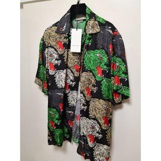 グッチ(Gucci)の最終値下げGUCCI 18SSパンサーフェイスボーリング柄アロハシャツ(シャツ)