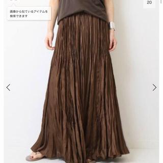 ドゥーズィエムクラス(DEUXIEME CLASSE)の♦︎新品タグ付♦︎プリーツスカート(ロングスカート)
