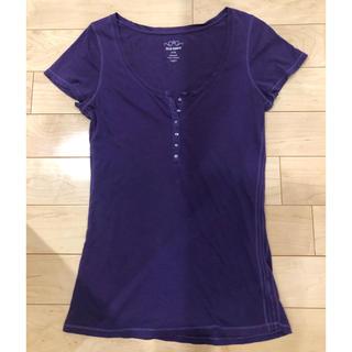 オールドネイビー(Old Navy)のTシャツ カットソー 半袖 パープル色 オールドネイビー(Tシャツ(半袖/袖なし))