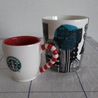 マリメッコ(marimekko)のマリメッコとスターバックスのマグカップ 2個セット(マグカップ)