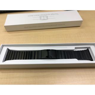 アップル(Apple)のApple watch バンド 42/44mm(金属ベルト)