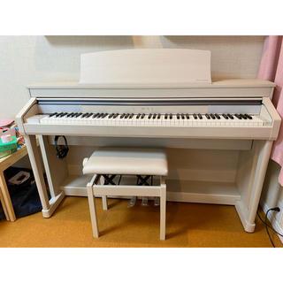 カワイイ(cawaii)のカワイ 電子ピアノ CA67A  ホワイトメープル 木製鍵盤 グランフィール(電子ピアノ)