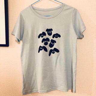 フェリシモ(FELISSIMO)のフェリシモ 犬 プリントTシャツ(Tシャツ(半袖/袖なし))