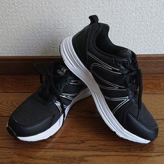 ケイパ(Kaepa)のKaepa ケイパ スニーカー 23cm 運動靴 ブラック 黒 運動会 (スニーカー)