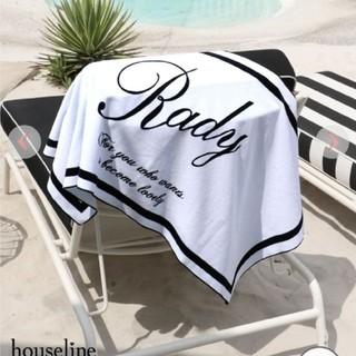 レディー(Rady)のRady☆モノトーンロゴバスタオル(タオル/バス用品)