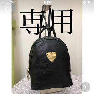 アタオ(ATAO)のATAO リュック ミッドナイト☆ブラック美品☆値引きしました♪(リュック/バックパック)
