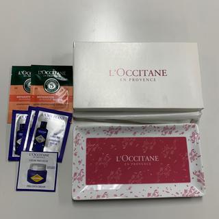 ロクシタン(L'OCCITANE)のロクシタン トレー 化粧水 シャンプー ノベルティ(小物入れ)