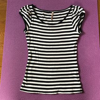 ピーチジョン(PEACH JOHN)のパフスリーブマリンTシャツ(Tシャツ(半袖/袖なし))