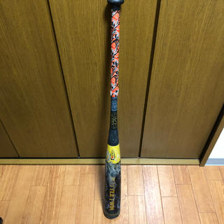 ゼット(ZETT)の野球バット ZETT バトルツイン バットケース付 送料無料 軟式用 M球対応(バット)