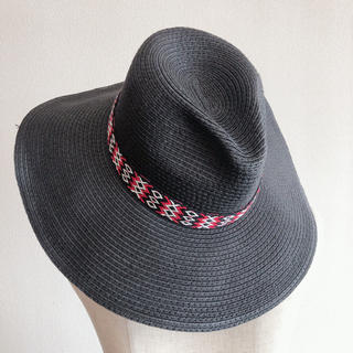エイチアンドエム(H&M)の帽子(麦わら帽子/ストローハット)