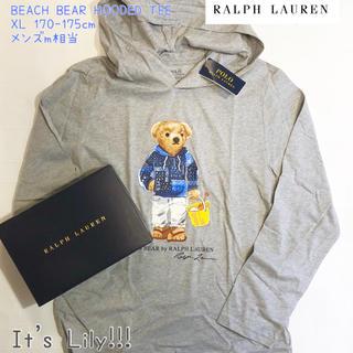 ラルフローレン(Ralph Lauren)のラルフローレン 新作 ベアプリント パーカー (Tシャツ(長袖/七分))