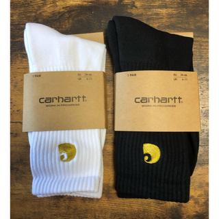カーハート(carhartt)のCarhartt カーハート ソックス 靴下 黒 白(ソックス)