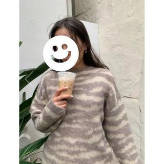 マウジー(moussy)のmoussy animal sweater(ニット/セーター)
