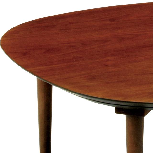 シンプルおしゃれこたつ ウォールナット突板 幅90cm インテリア/住まい/日用品の机/テーブル(こたつ)の商品写真