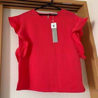 オペークドットクリップ(OPAQUE.CLIP)のオペークドクリップ カットソー ブラウス ピンク系(Tシャツ(半袖/袖なし))